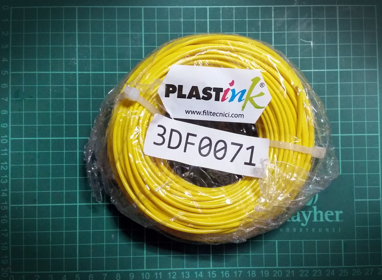 Article image for Filament review: PlastInk Rubber