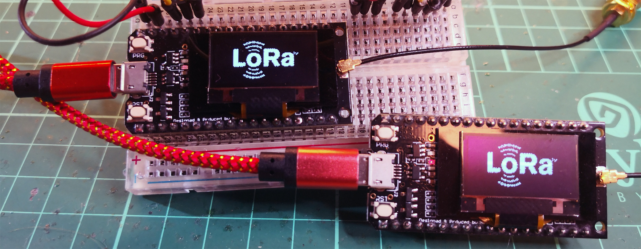 Article image for ESP32-based LoRa