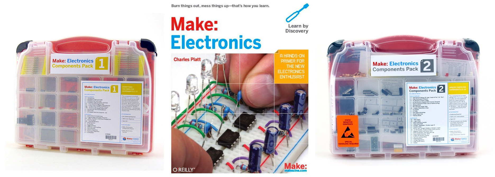 Article image for Make:Electronics training