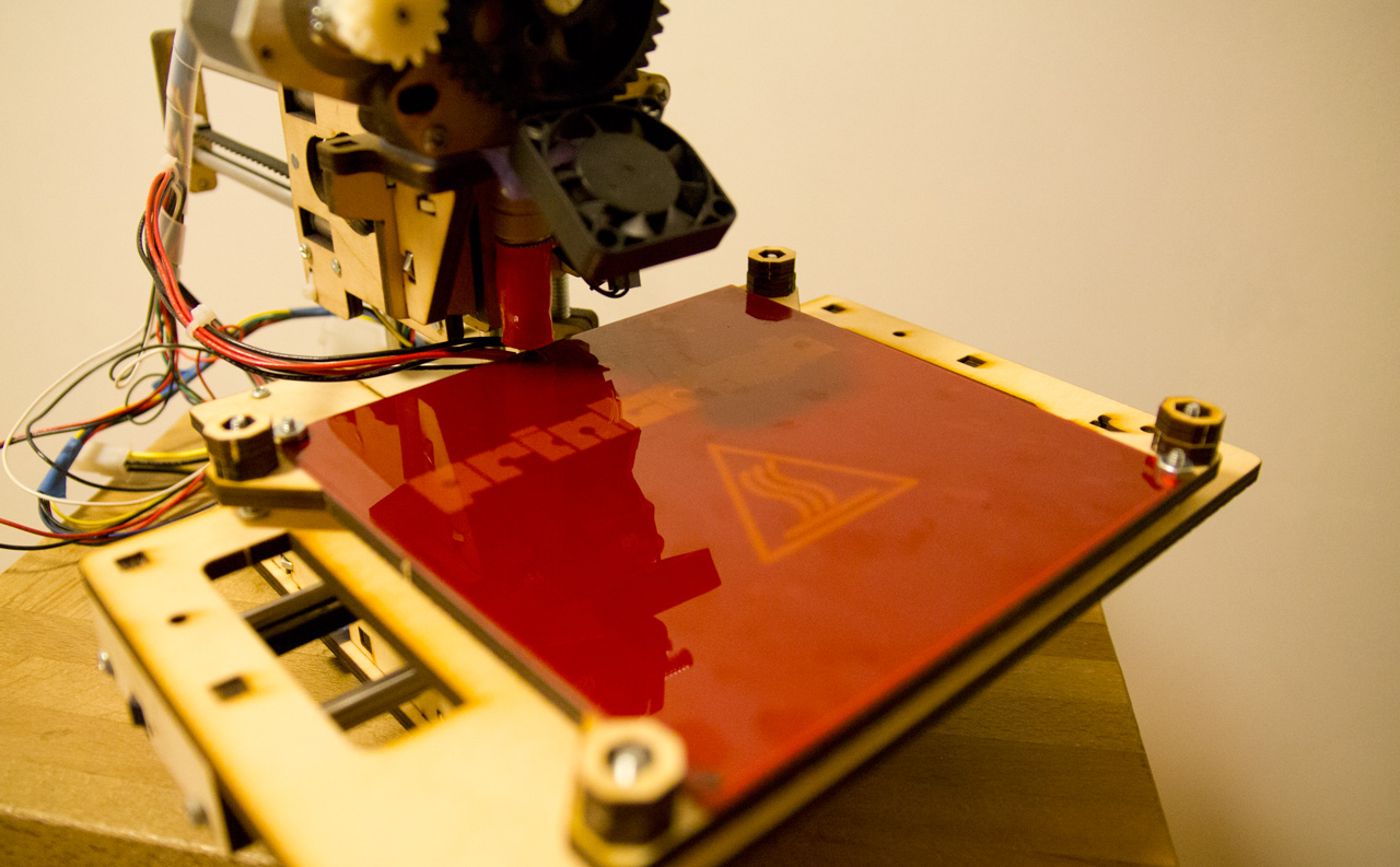 Article image for Printrbot Jr Heated bed upgrade